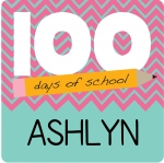 100 Days of School - Pink