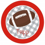 Alabama Gingham Football