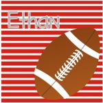 Alabama Striped Square Football