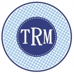 Blue Gingham Patch