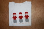 Football Trio Applique