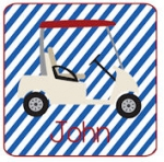 Golf Cart - Blue