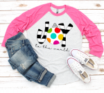 Joy Ornament Raglan