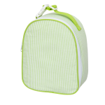 Lime Seersucker Lunchbox
