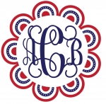 Patriotric Monogram