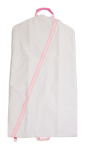 Pink Seersucker Garment Bag
