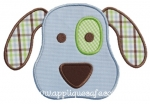 Puppy Applique with Pants