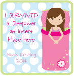 Survived Sleepover - Girl