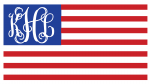 US Flag Initials